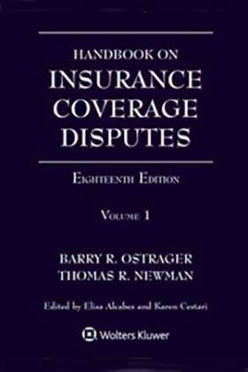 Handbook on Insurance Coverage Disputes, Eighteenth Edition