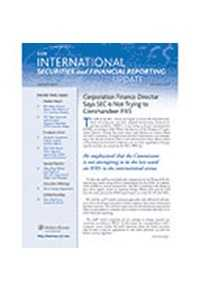 International Securities and Financial Reporting Update by