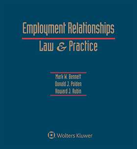 Employment Relationships: Law and Practice