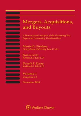 Mergers, Acquisitions, and Buyouts, November 2019 by Donald E. Rocap , Jack S. Levin , Martin D. Ginsburg