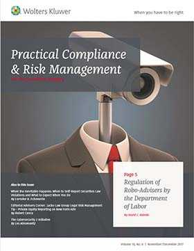 Practical Compliance and Risk Management for the Securities Industry