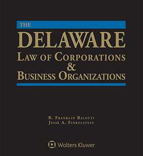 delaware law of corporations business organizations third edition