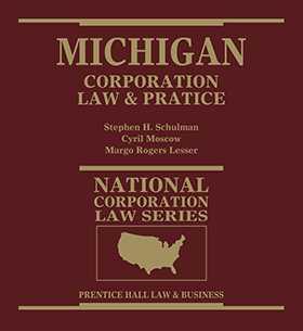 Michigan Corporation Law & Practice