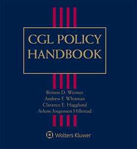 cgl policy handbook third edition wolters kluwer legal regulatory