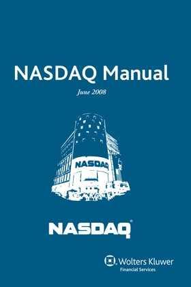 NASDAQ Manual by