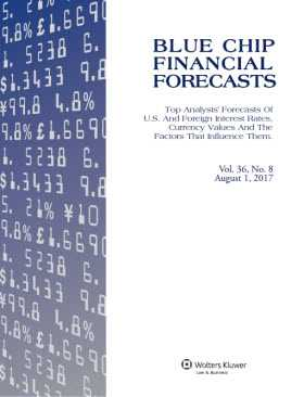 Blue Chip Financial Forecasts by Randell E. Moore