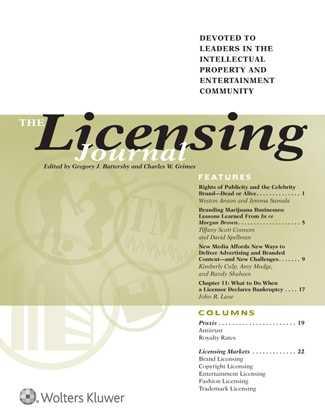Licensing Journal