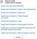 Healthcare Compliance Library