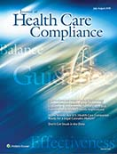 Journal of Health Care Compliance