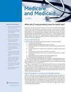 Medicare and Medicaid Guide by Wolters Kluwer Editorial Staff