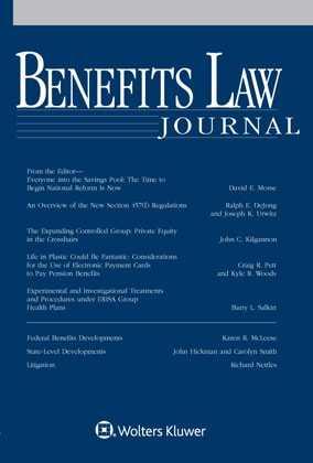Benefits Law Journal by David E. Morse