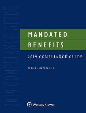 Mandated Benefits 2019 Compliance Guide