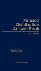 Pension Distribution Answer Book, 2021 Edition by Melanie N. Aska , James E. Turpin