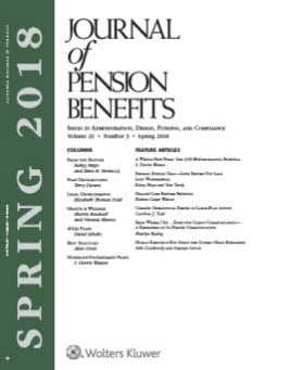 Journal of Pension Benefits by Kelsey N.H. Mayo ,Ilene H. Ferenczy Ferenczy Benefits Law Center