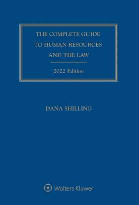 Complete Guide to Human Resources and the Law, 2020 Edition