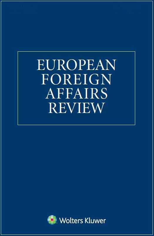 European Foreign Affairs Review Combo