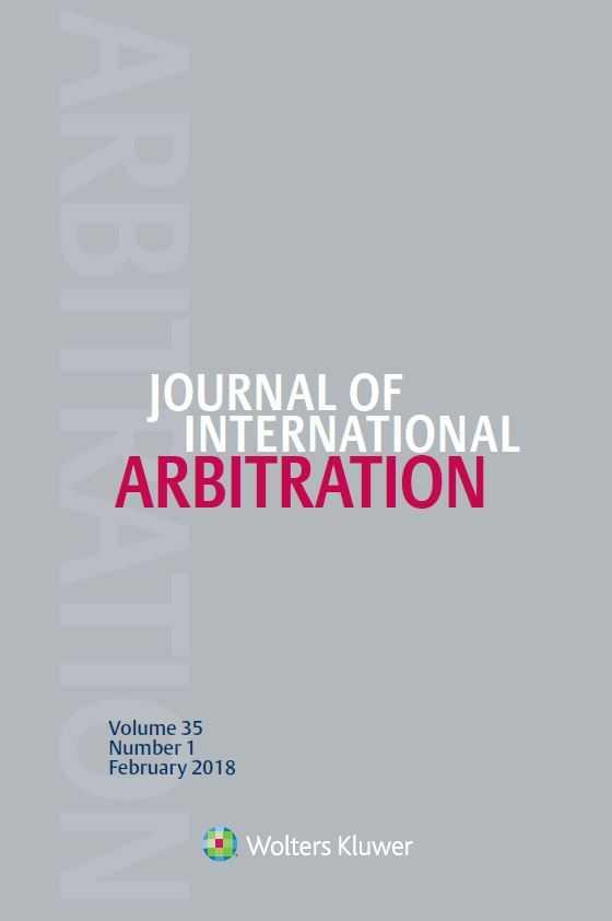 Journal of International Arbitration Combo
