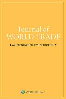 Journal of World Trade Combo