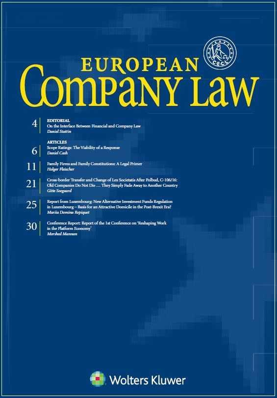 European Company Law Combo