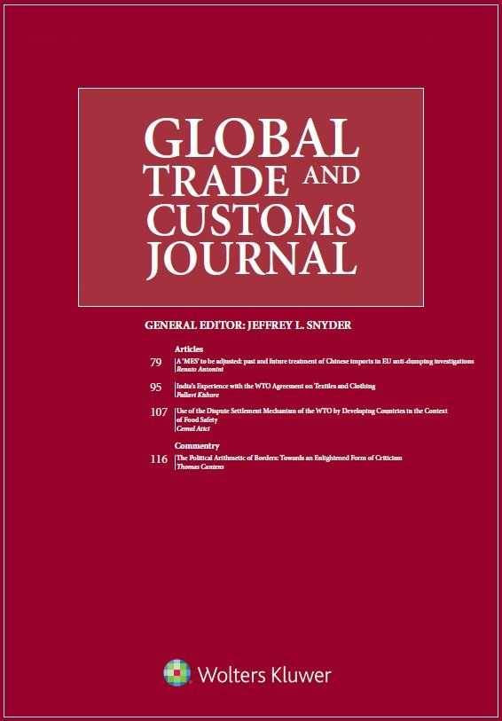 Global Trade and Customs Journal Combo