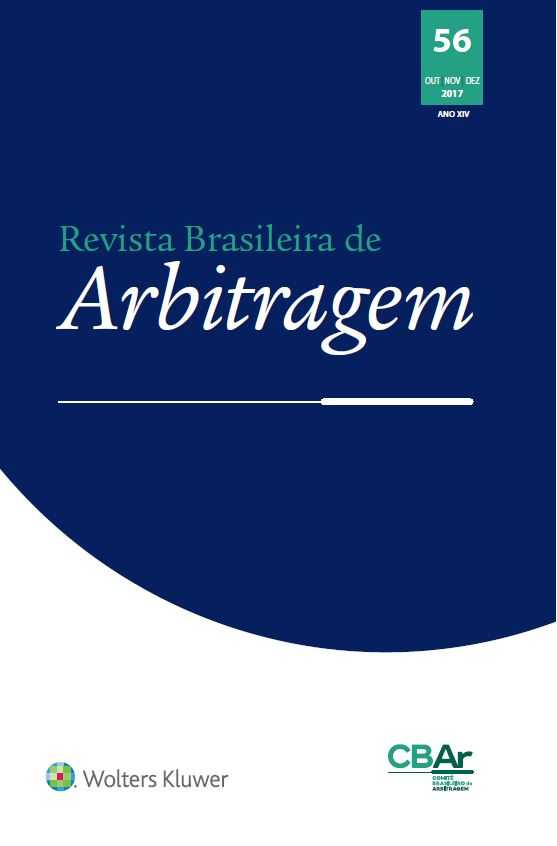 Revista Brasileira de Arbitragem