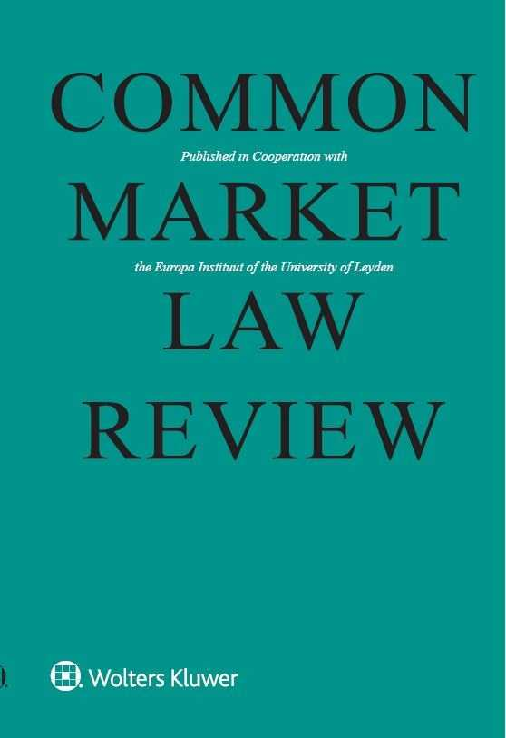 Common Market Law Review Online