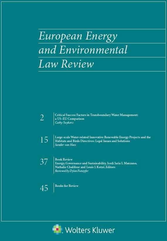 European Energy and Environmental Law Review
