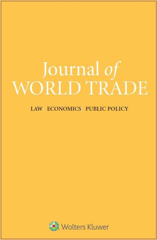 Journal of World Trade