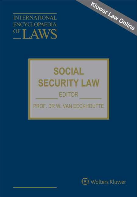 International Encyclopaedia of Laws: Social Security Law Online