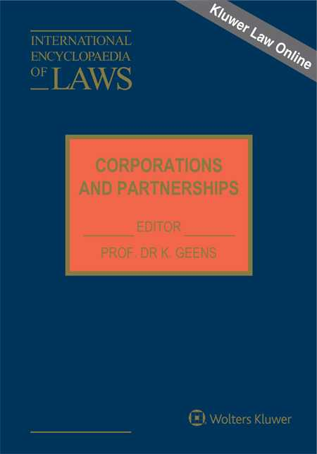 International Encyclopaedia of Laws:Corporations and Partnerships Online by KLI/TURPIN