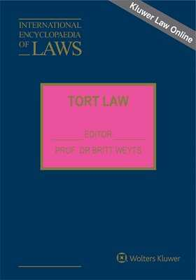 International Encyclopaedia of Laws: Tort Law