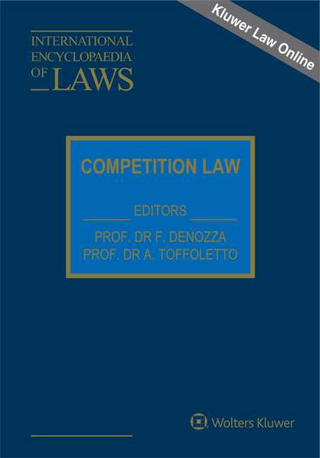 International Encyclopaedia of Laws: Competition Law Online