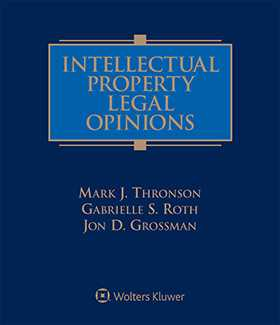 Intellectual Property Legal Opinions, Second Edition