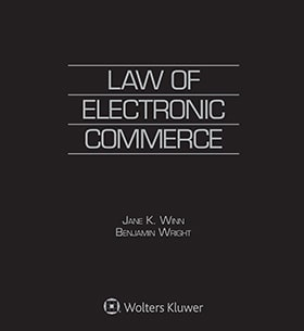 Law of Electronic Commerce, Fourth Edition by Jane Kaufman Winn , Benjamin Wright