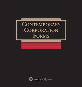 Contemporary Corporation Forms, Second Edition