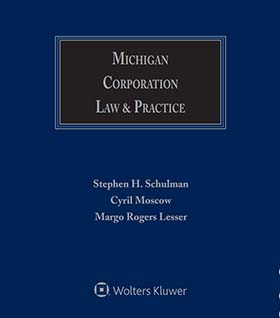 Michigan Corporation Law & Practice