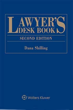 Lawyer's Desk Book, Second Edition