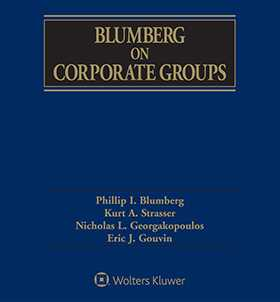 Blumberg on Corporate Groups, Second Edition