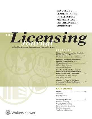 Licensing Journal