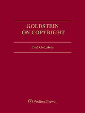 Goldstein on Copyright, Third Edition