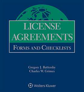License Agreements Forms And Checklists Second Edition