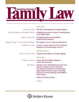 American Journal of Family Law