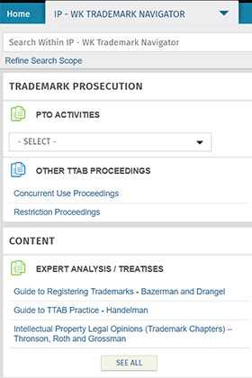 WK Trademark Navigator