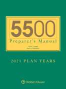 5500 Preparer's Manual for 2018 Plan Years