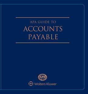 APA Guide to Accounts Payable, 2019 Edition by Donna Michele St. Peter's Health Partners ,Lovie D. Ross Texas Children's Hospital