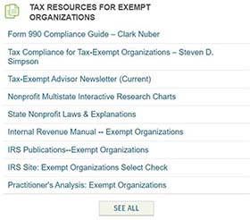Healthcare Tax Resources for Exempt Organizations