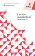 Arbitration: The Journal of International Arbitration, Meditation, and Dispute Management by KLI