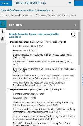 Dispute Resolution Journal - American Arbitration Association