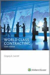 World Class Contracting, Sixth Edition