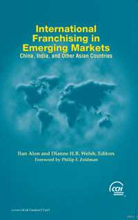 International Franchising in Emerging Markets: China, India, and Other Asian Countries